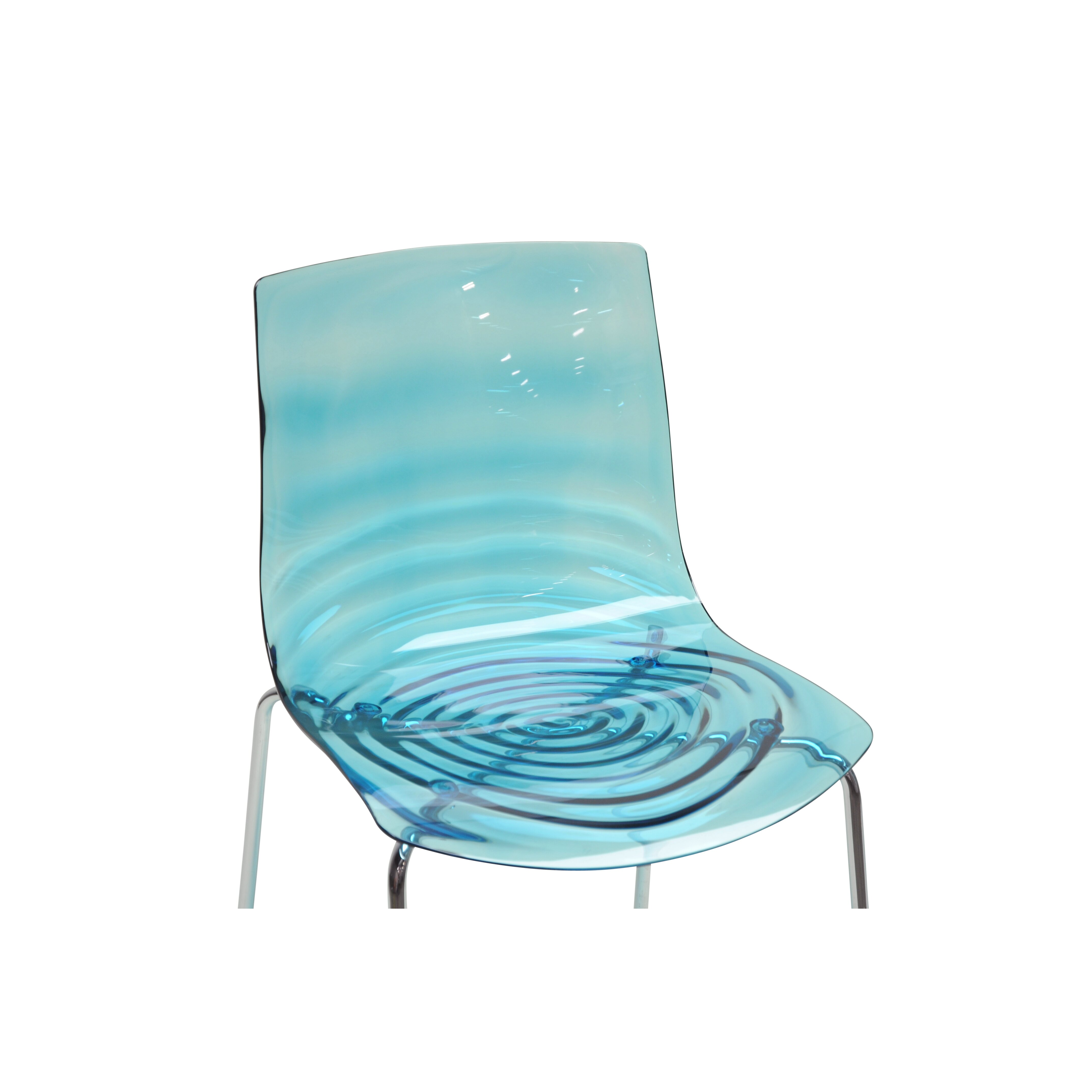 Wholesale interiors baxton studio marisse side chair for Plastic modern chairs