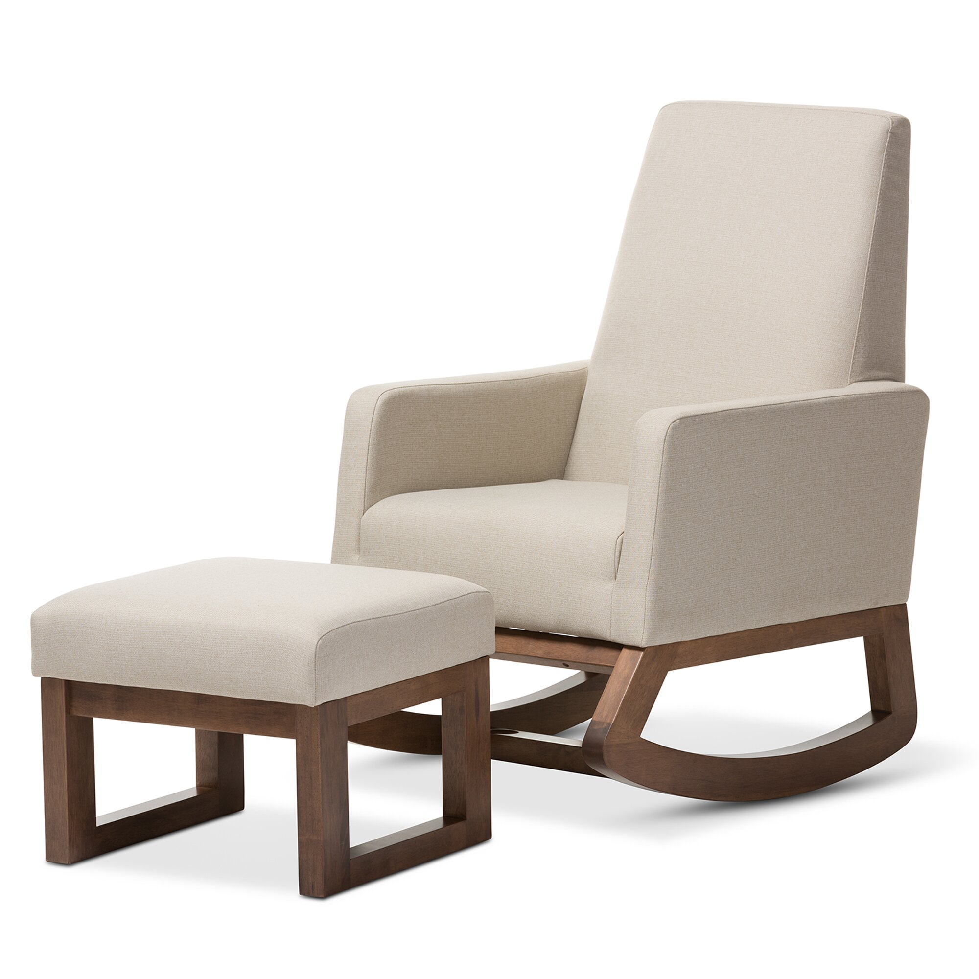 Wholesale Interiors Baxton Studio Rocking Chair & Reviews  Wayfair