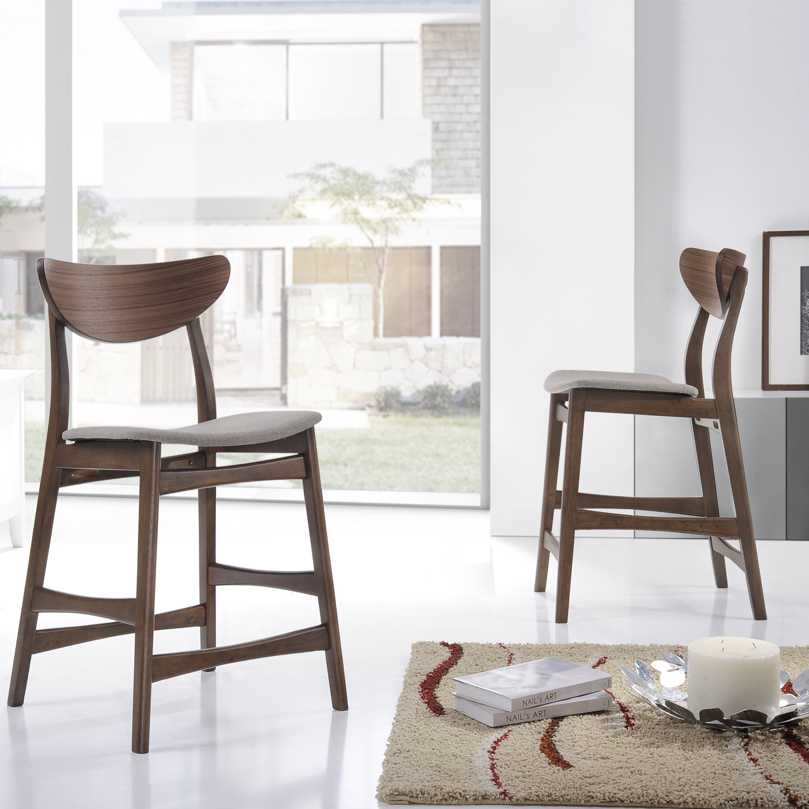 "Bar Furniture By Baxton Studios: Wholesale Interiors Baxton Studio 23.5"" Bar Stool"