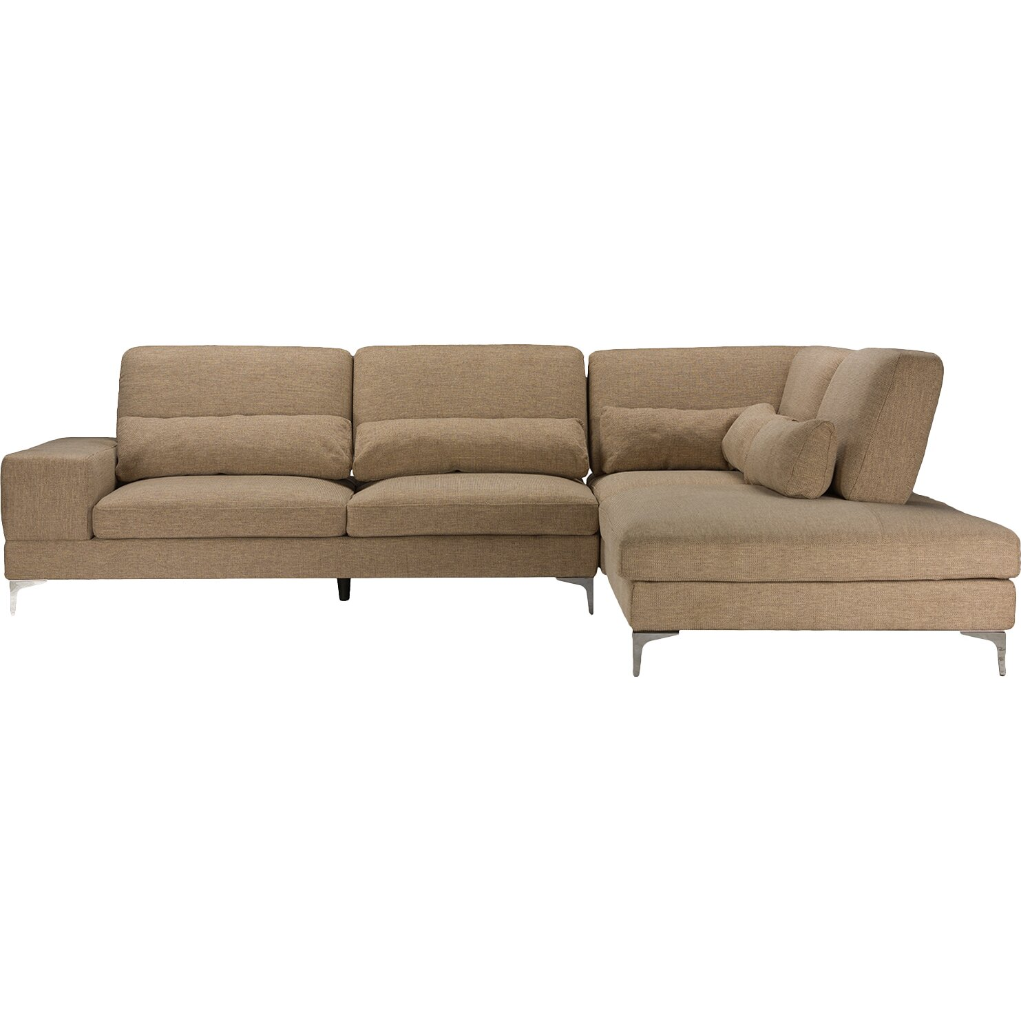 Wholesale Interiors Baxton Studio Sonia Sectional