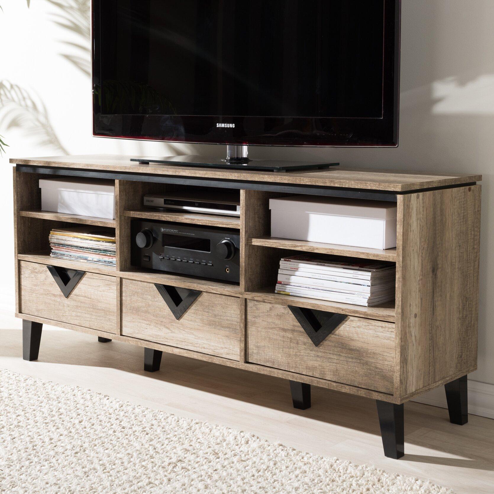 Wholesale interiors baxton studio tv stand reviews wayfair for Baxton studio