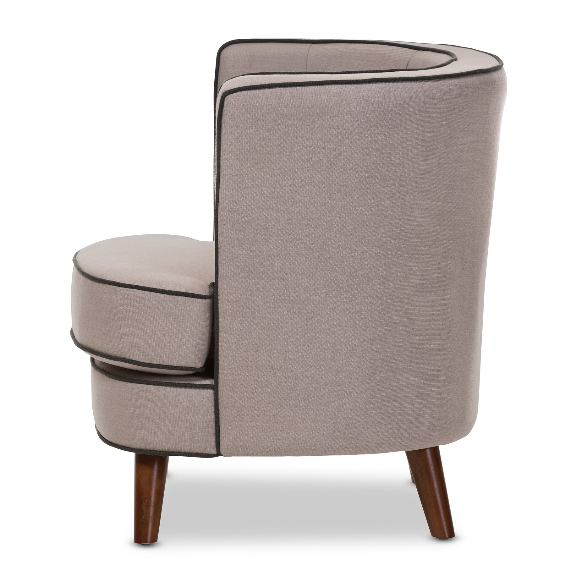 Wholesale Interiors Baxton Studio Michele Upholstered Club