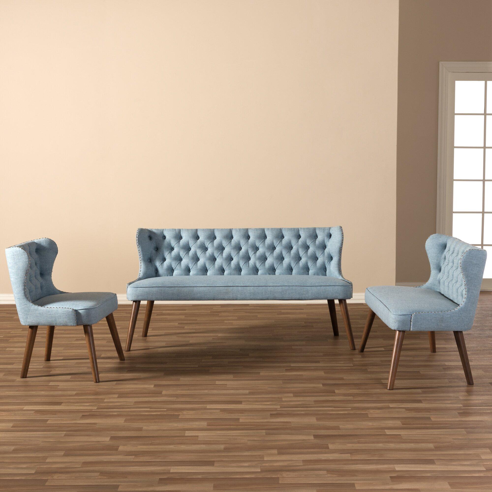 Wholesale interiors baxton studio 3 piece living room set for 3 piece living room set