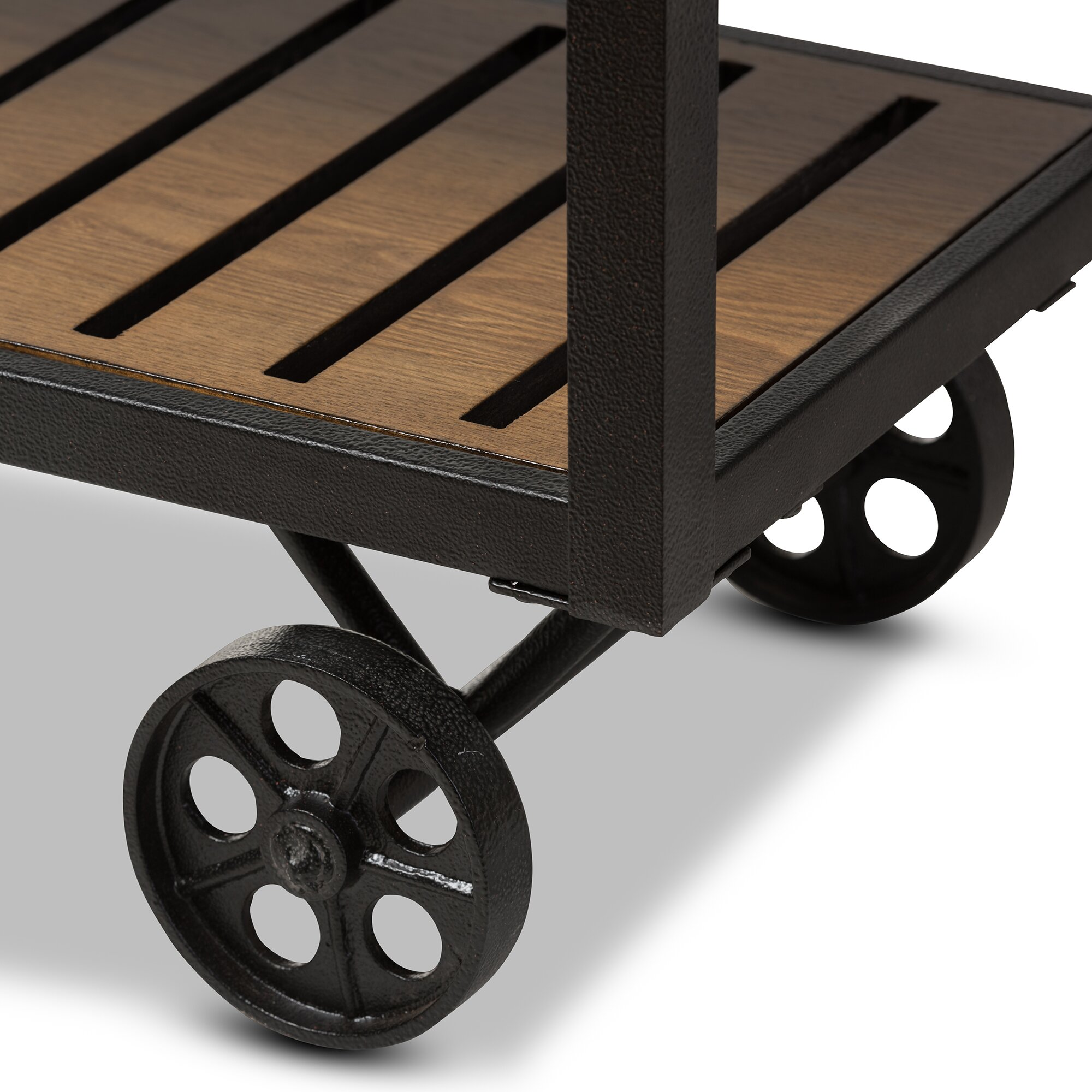 Wholesale Interiors Bradford Serving Cart Reviews: Wholesale Interiors Baxton Studio Kennedy Serving Cart