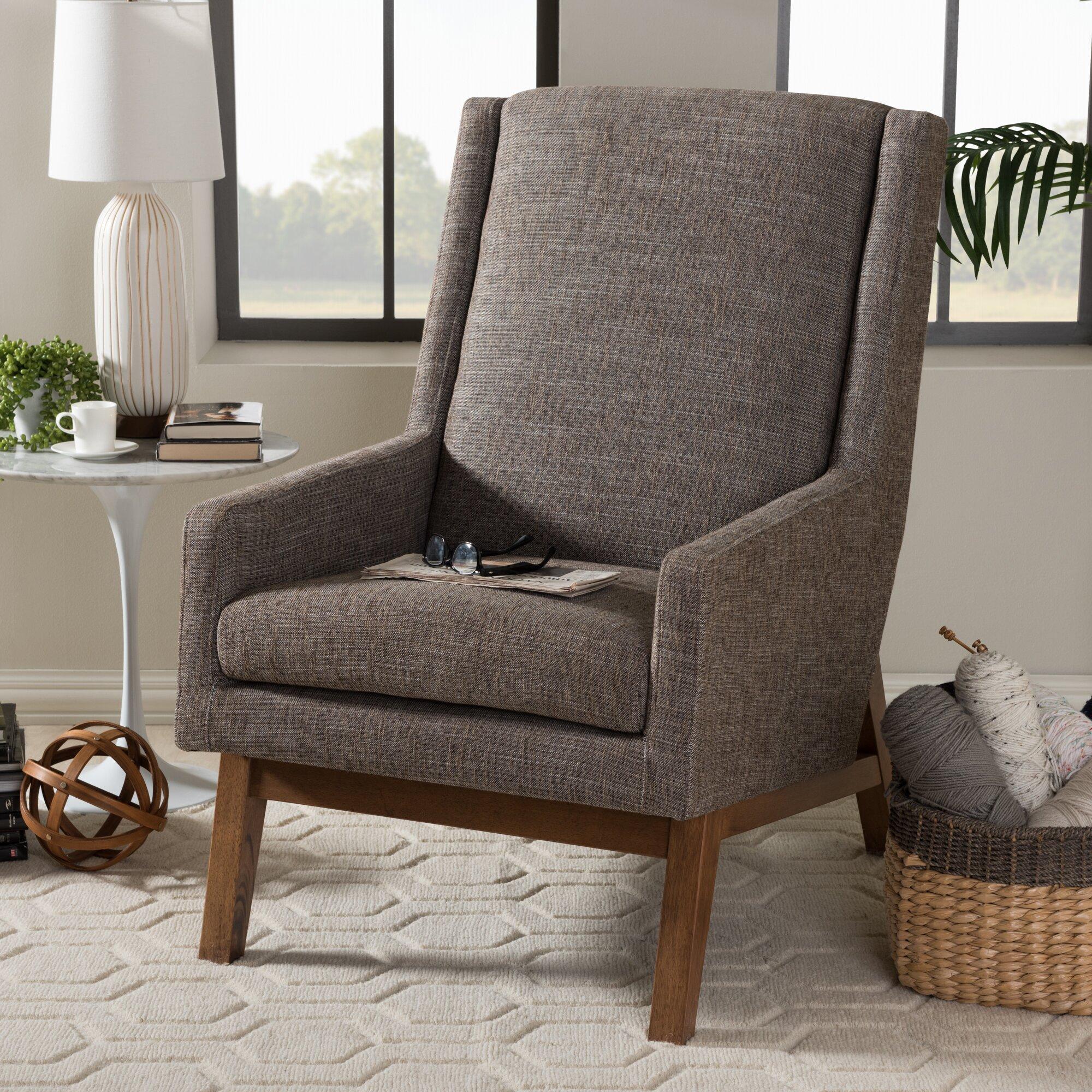 wholesale interiors baxton studio gerardo upholstered lounge chair baxton studio lounge chair