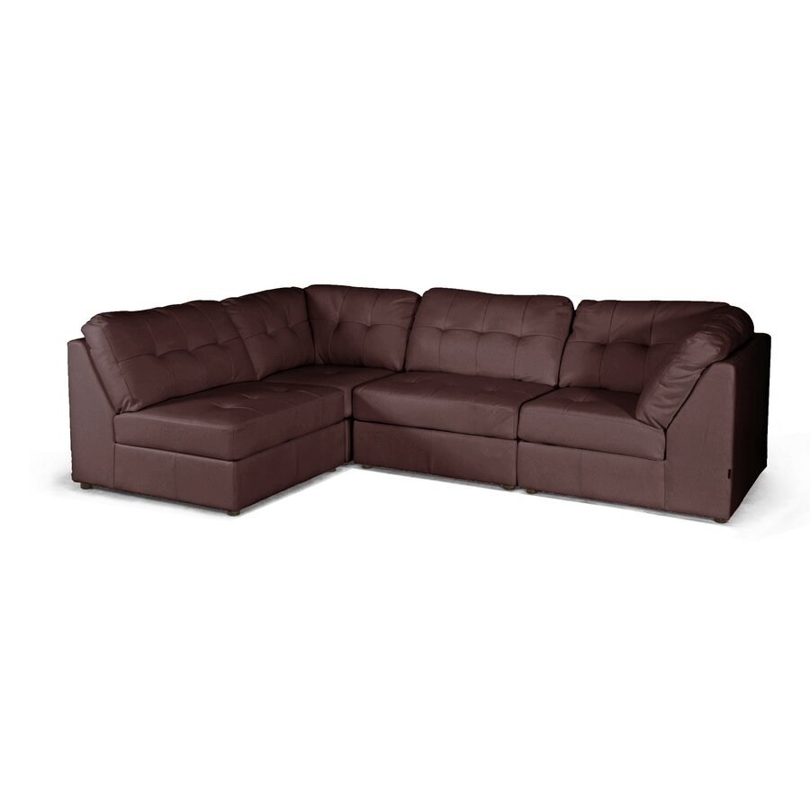Modular Furniture Sofa: Wholesale Interiors Baxton Studio Modular Sectional