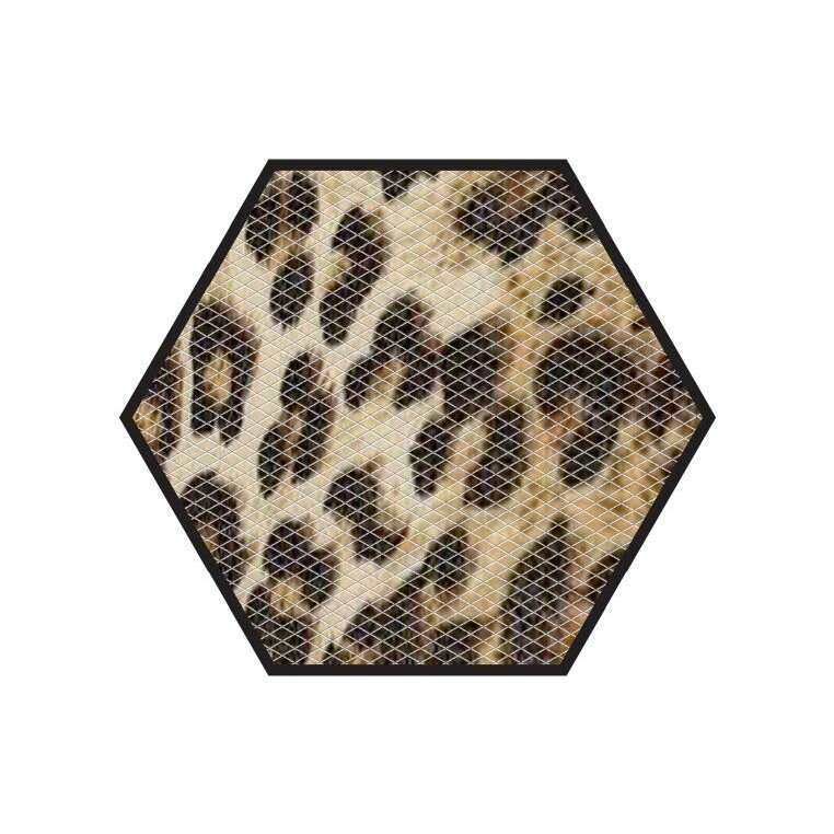No Slip Mat By Versatraction Cheetah Bath Tub And Shower