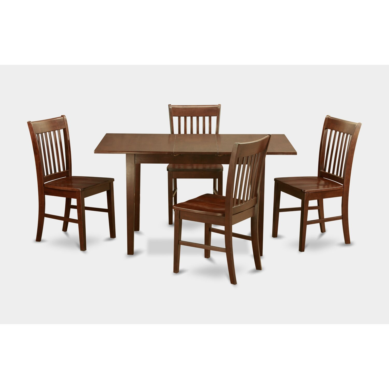 East west norfolk 5 piece dining set reviews wayfair for 5 piece dining room sets