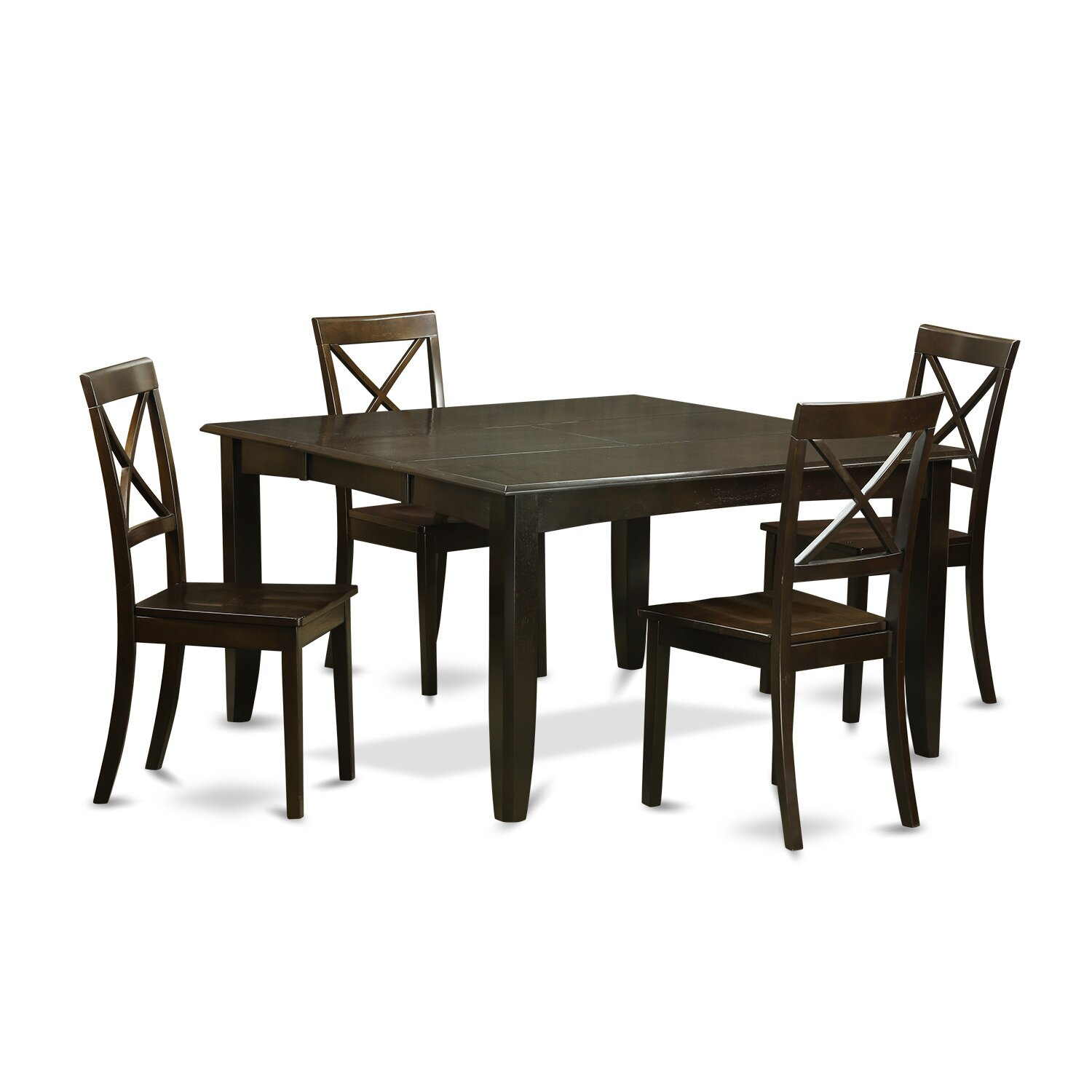 PC-Dining-Table-Set-Dining-Table-with-Leaf-and-4-Kitchen-Chairs ...