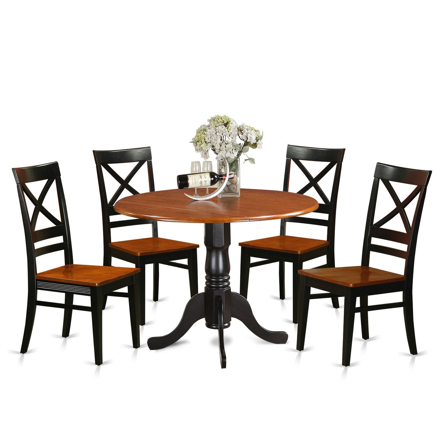 Cheap 5 Piece Dining Set: East West 5 Piece Dining Set & Reviews