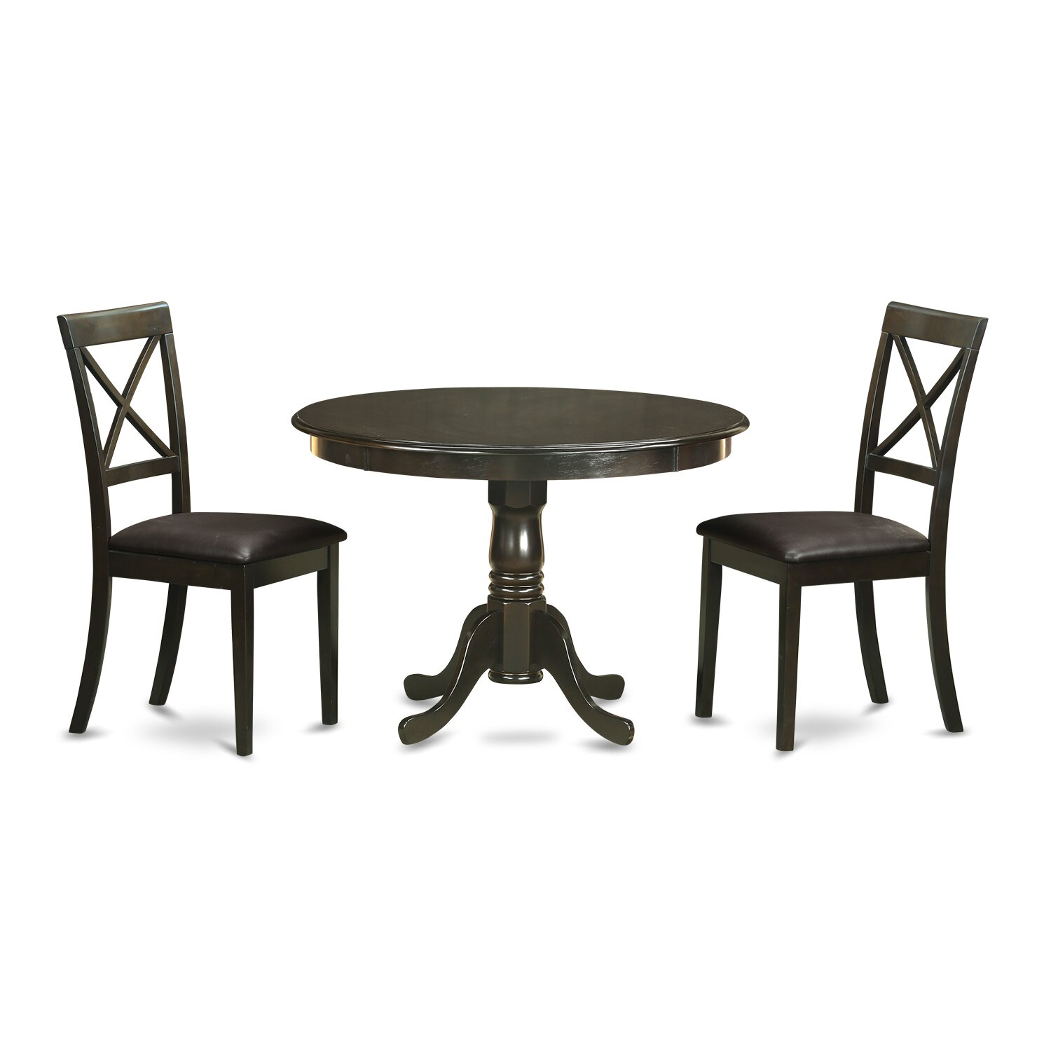East West Hartland 3 Piece Dining Set Wayfair