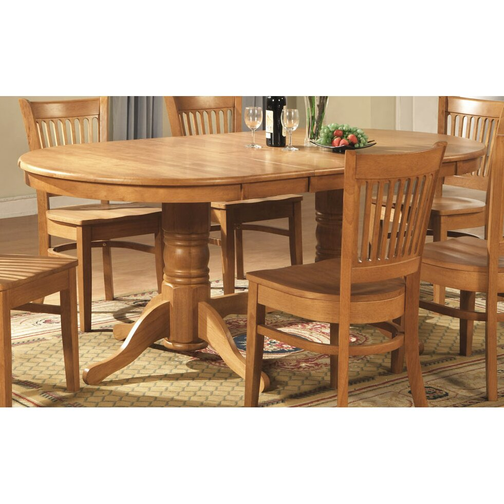 Darby home co rockdale 9 piece dining set reviews wayfair for 9 piece dining room set