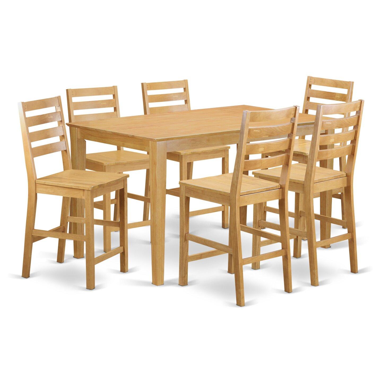 7 piece pub table set castrophotos charlton home smyrna 7 piece counter height pub table set watchthetrailerfo