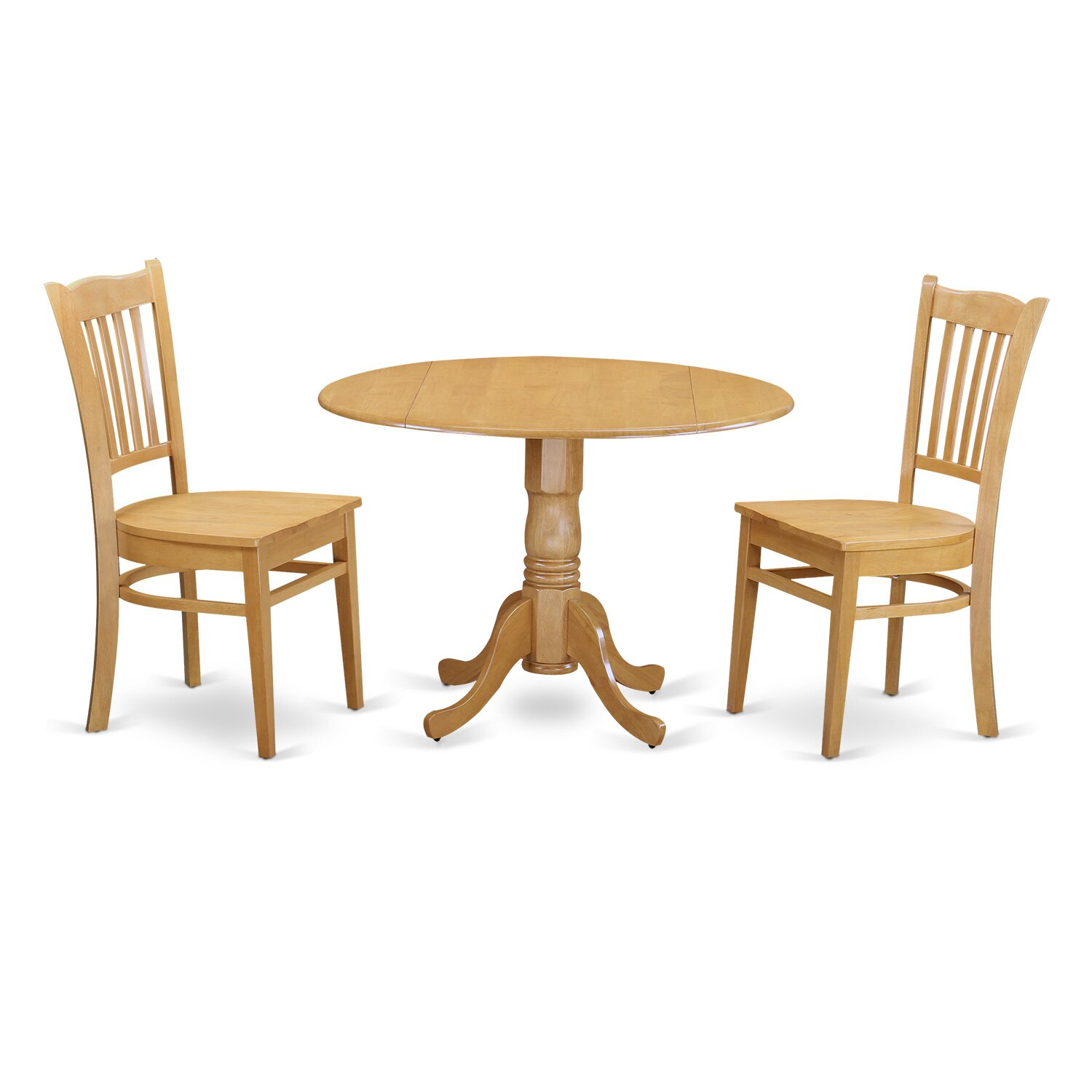 Charlton Home Gloucester 3 Piece Dining Set Wayfair