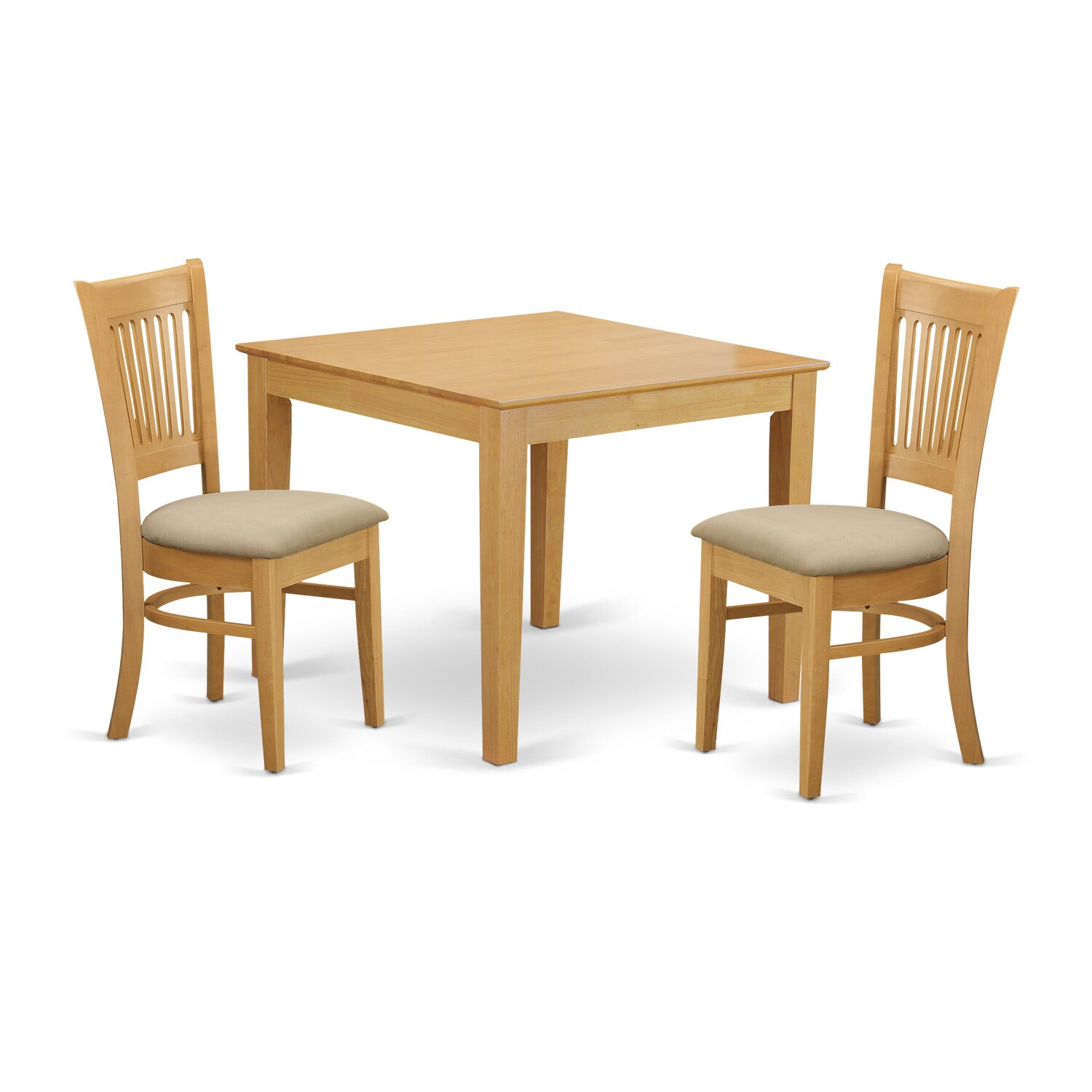 East west oxford 3 piece dining set wayfair for 3 piece dining room set