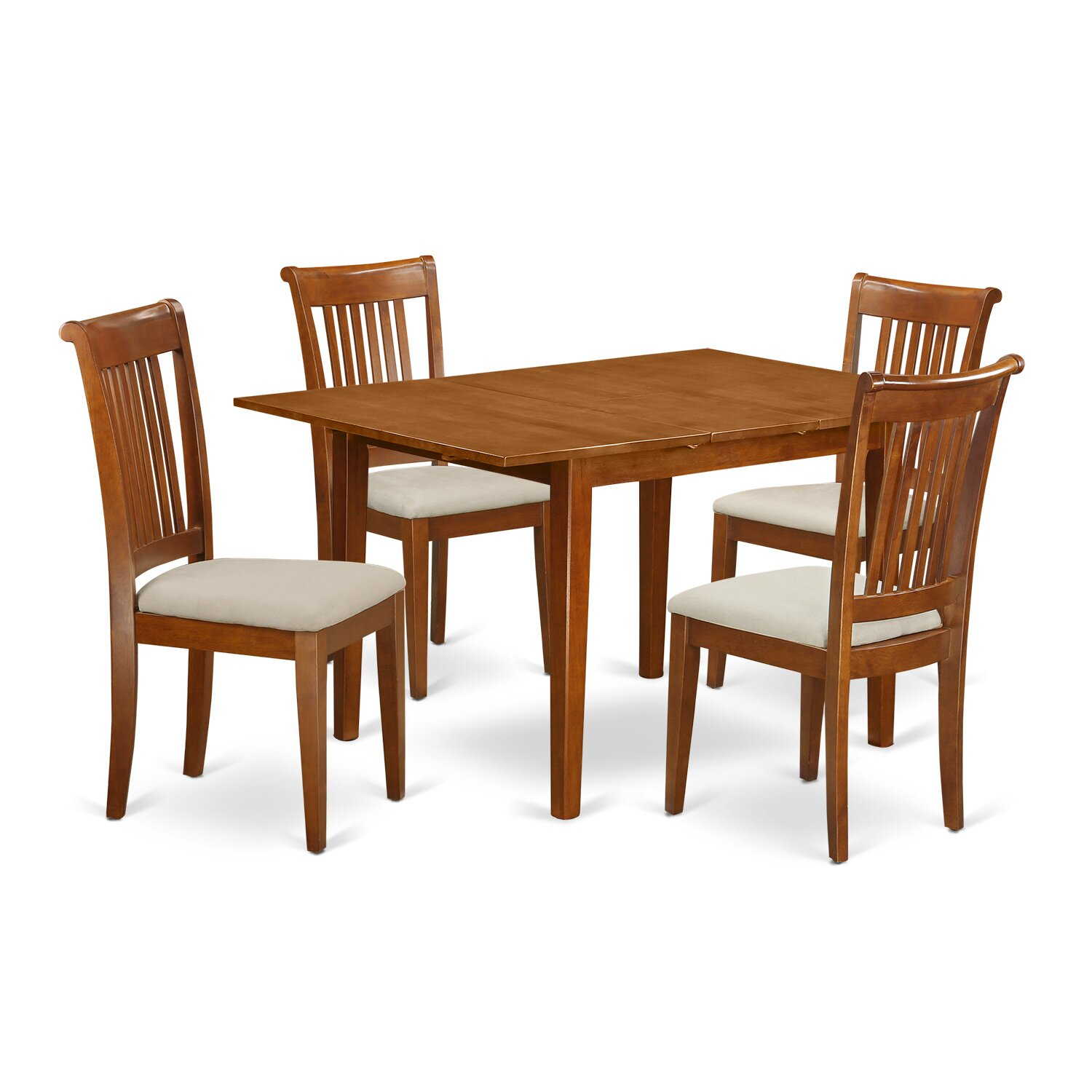 East West Milan 5 Piece Dining Set Reviews Wayfair