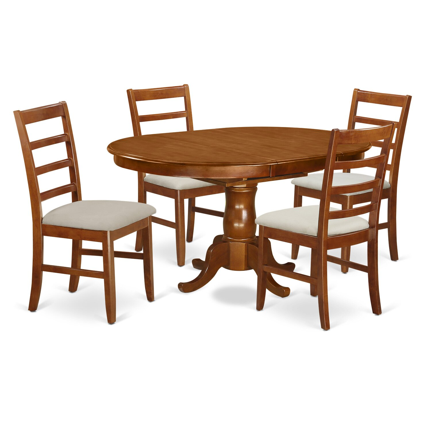 East west portland piece dining set wayfair