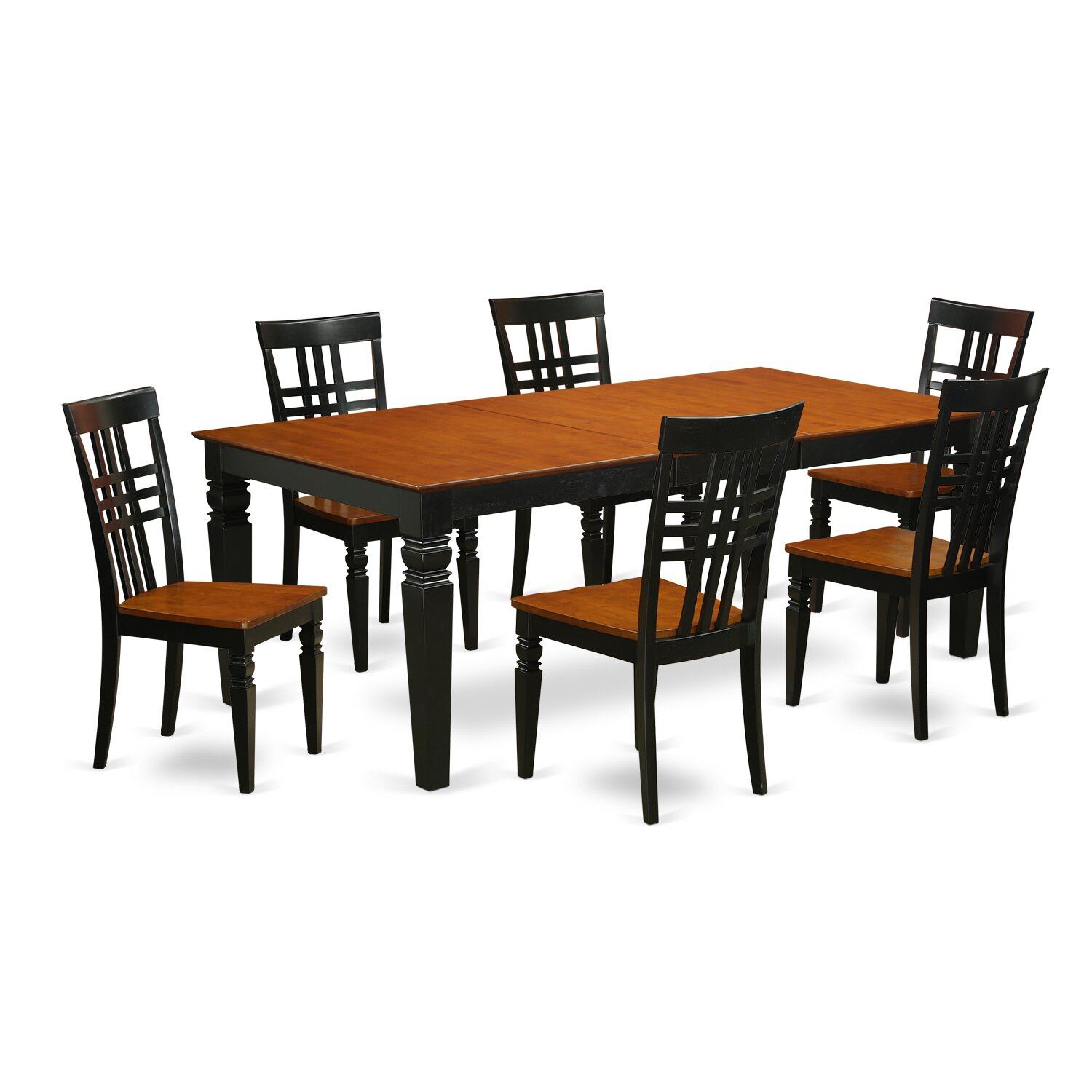 #8B4516 Best Kitchen U0026 Dining Furniture 7 Piece Kitchen U0026 Dining Room Sets  Logan Dining