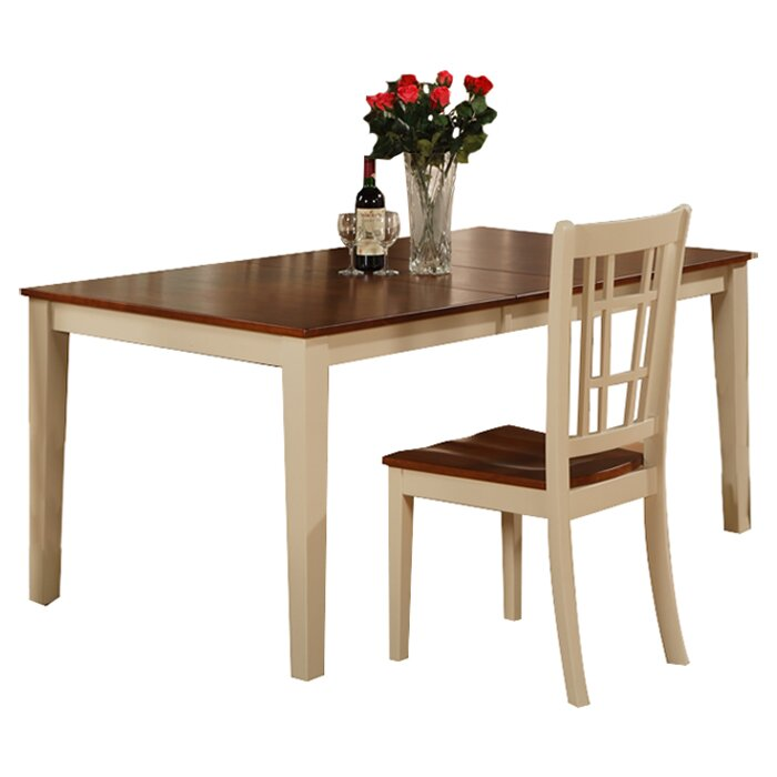 East West Nicoli 6 Piece Dining Set: East West Nicoli Dining Table & Reviews