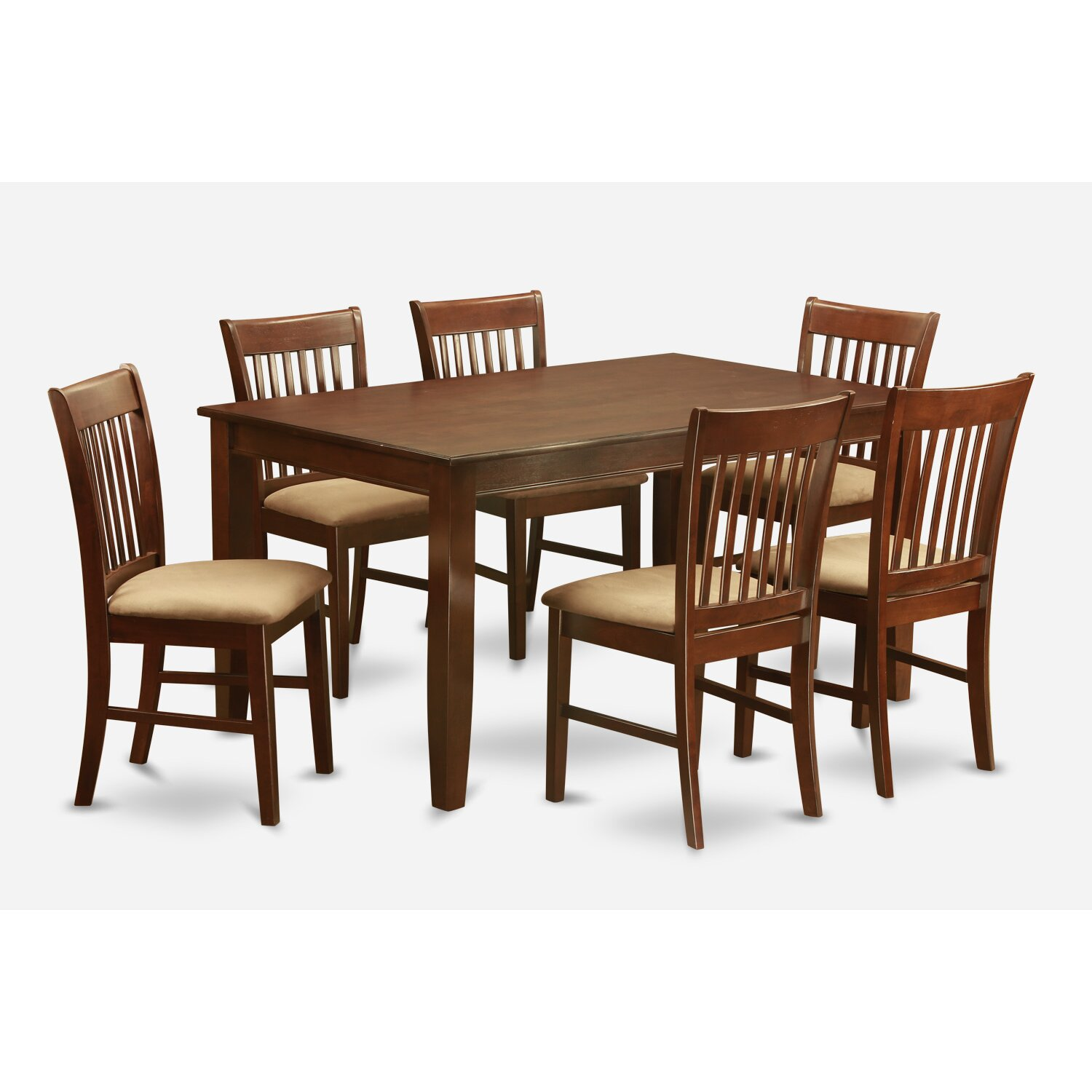 Wooden importers dudley 7 piece dining set reviews wayfair for 7 piece dining set