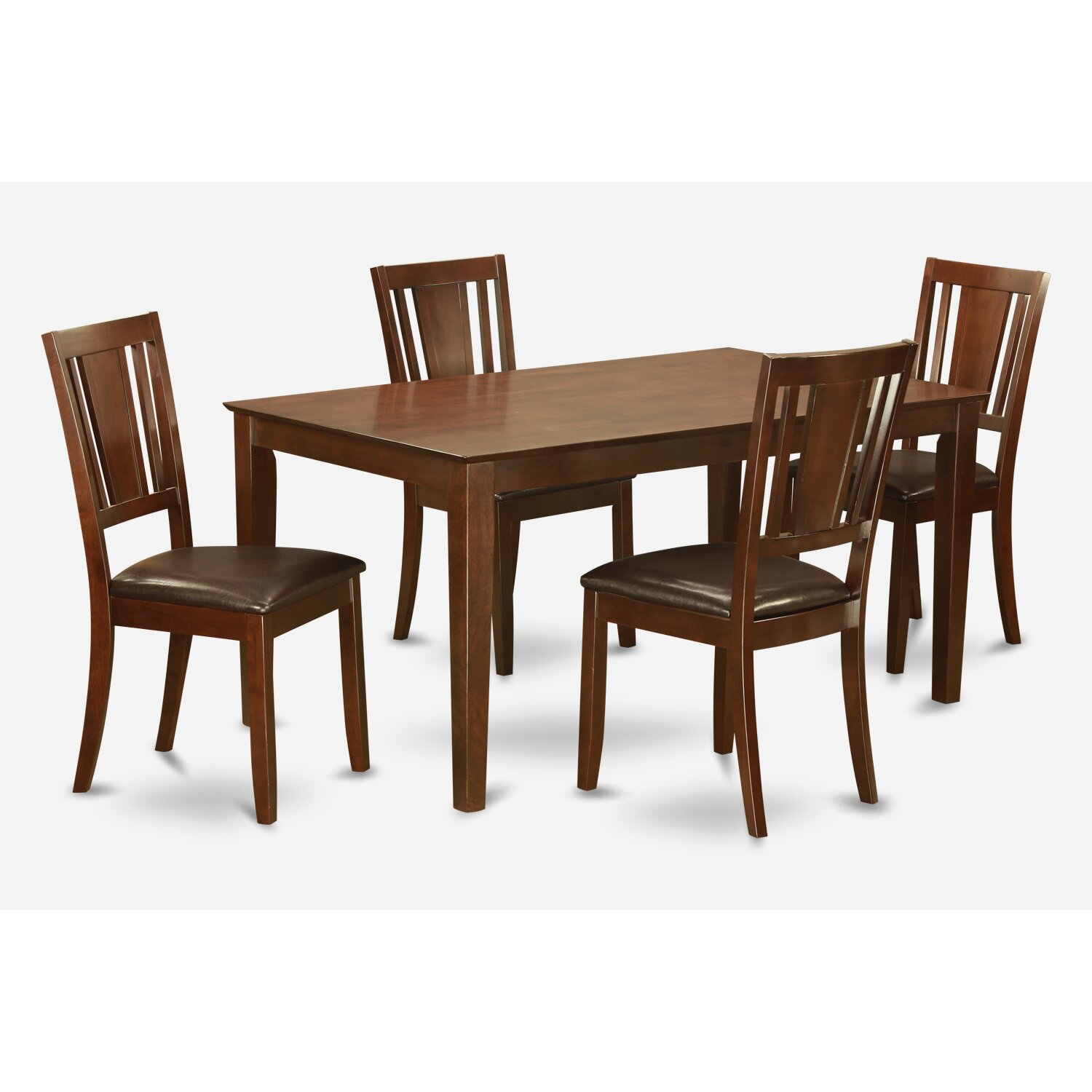 Wooden importers capri 5 piece dining set wayfair for 5 piece dining set