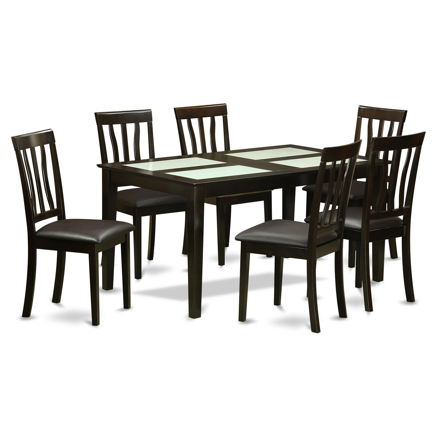Wooden Importers 3 Piece Dining Set Reviews: Wooden Importers Capri 7 Piece Dining Set & Reviews