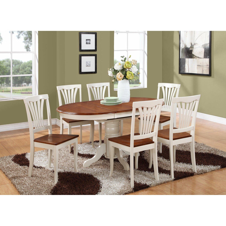 Wooden Importers Avon 7 Piece Dining Set: Wooden Importers Kenley 7 Piece Dining Set & Reviews