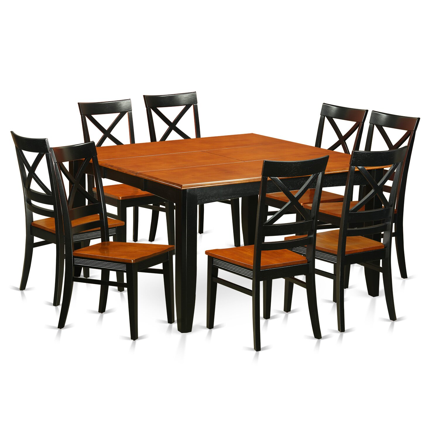 Wooden importers parfait 9 piece dining set for Signoraware organise your kitchen set 8 pieces
