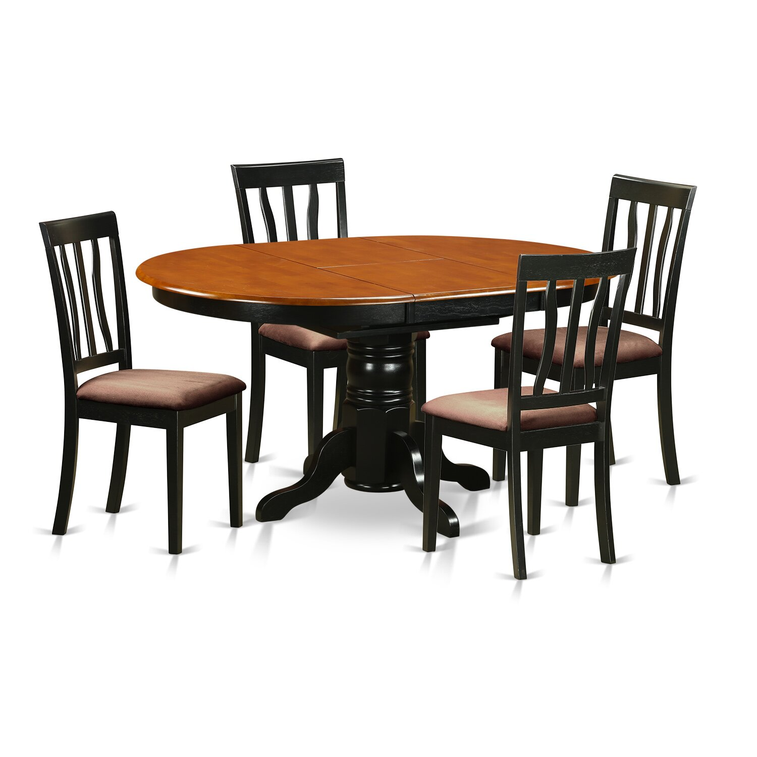Dining Room Sets Wood: Wooden Importers Avon 5 Piece Dining Set