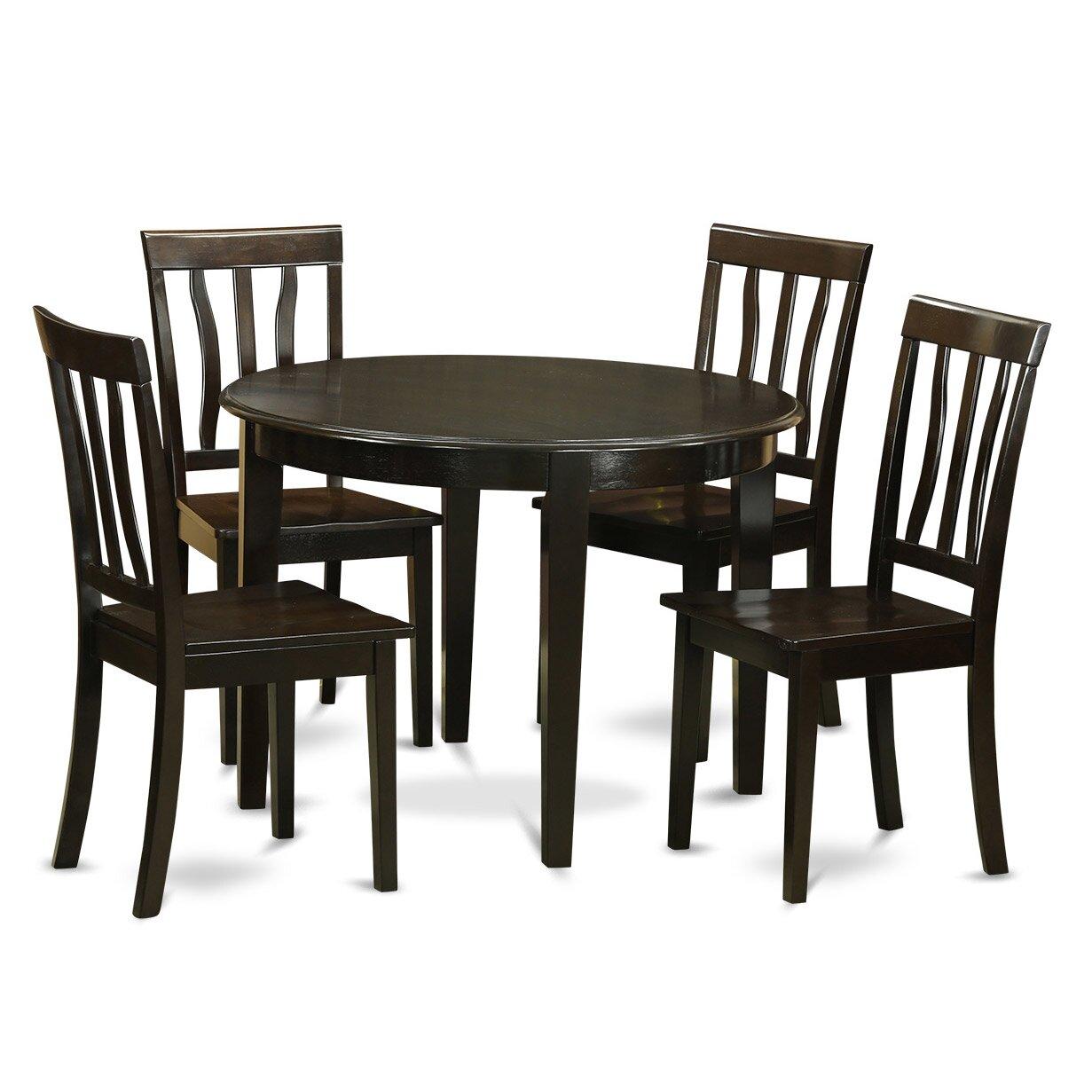 Wooden Importers Lynfield 6 Piece Dining Set: Wooden Importers Boston 5 Piece Dining Set