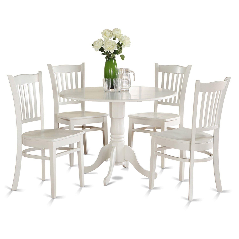 Wooden Importers Lynfield 6 Piece Dining Set: Wooden Importers Dublin 5 Piece Dining Set & Reviews
