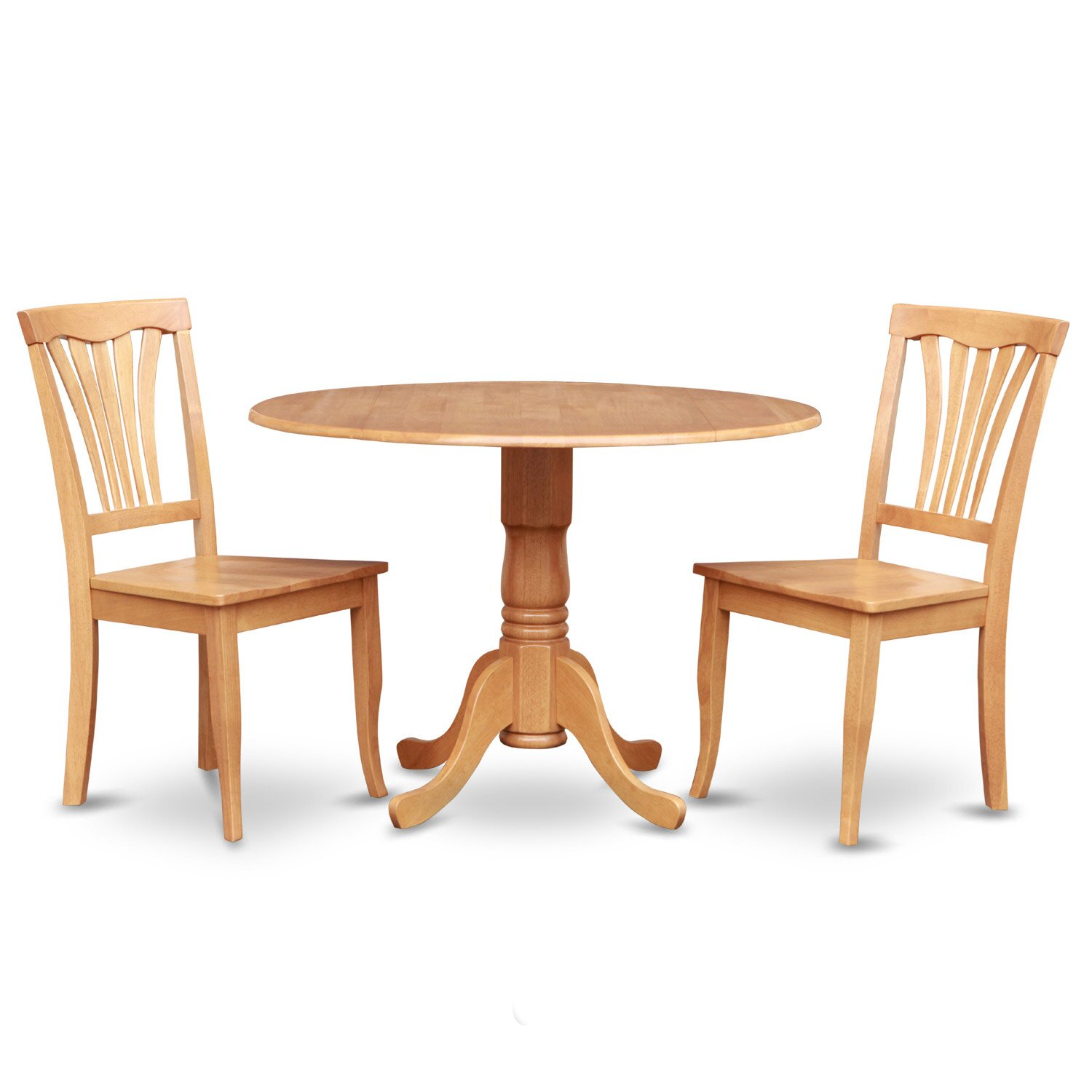 Wooden importers dublin 3 piece dining set reviews wayfair for Kitchen set table and chairs