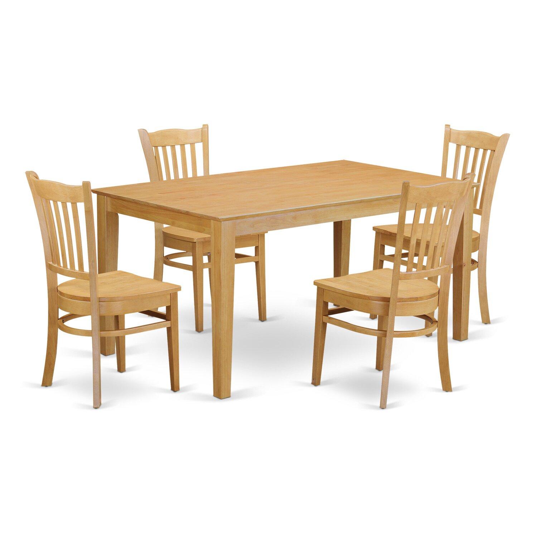 Wooden Importers Lynfield 6 Piece Dining Set: Wooden Importers Capri 5 Piece Dining Set
