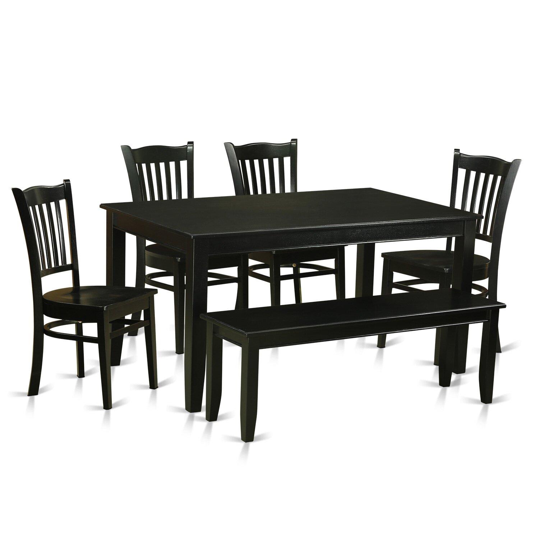 Wooden Importers Lynfield 6 Piece Dining Set: Wooden Importers Dudley 6 Piece Dining Set