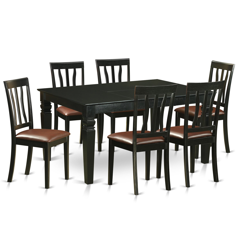 Wooden Importers Lynfield 6 Piece Dining Set: Wooden Importers Weston 7 Piece Dining Set