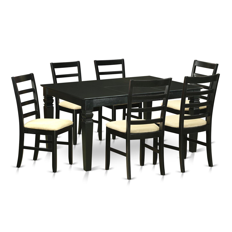 Wooden Importers Avon 7 Piece Dining Set: Wooden Importers Weston 7 Piece Dining Set & Reviews