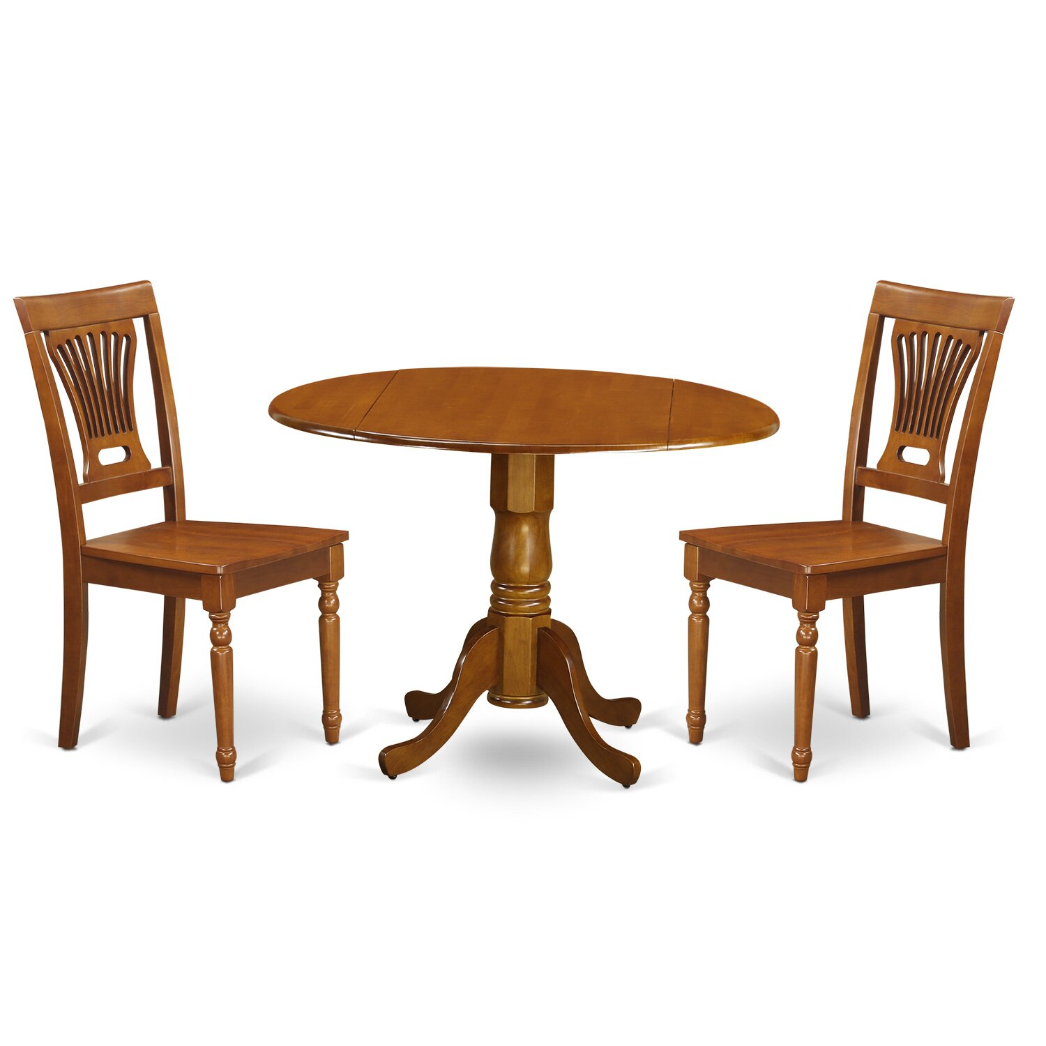 Marvelous photograph of  Furniture 3 Piece Kitchen & Dining Room Sets Wooden Importers SKU with #7E451C color and 1500x1500 pixels