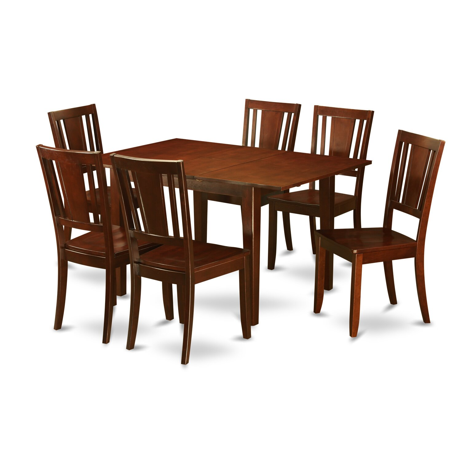 Wooden Importers Milan 7 Piece Dining Set Wayfair