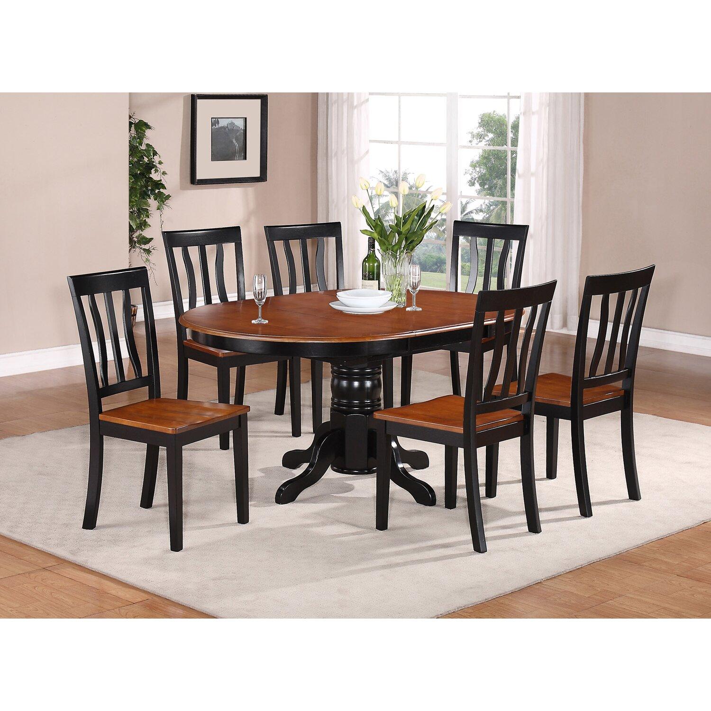 Wooden Importers Avon 7 Piece Dining Set Amp Reviews Wayfair
