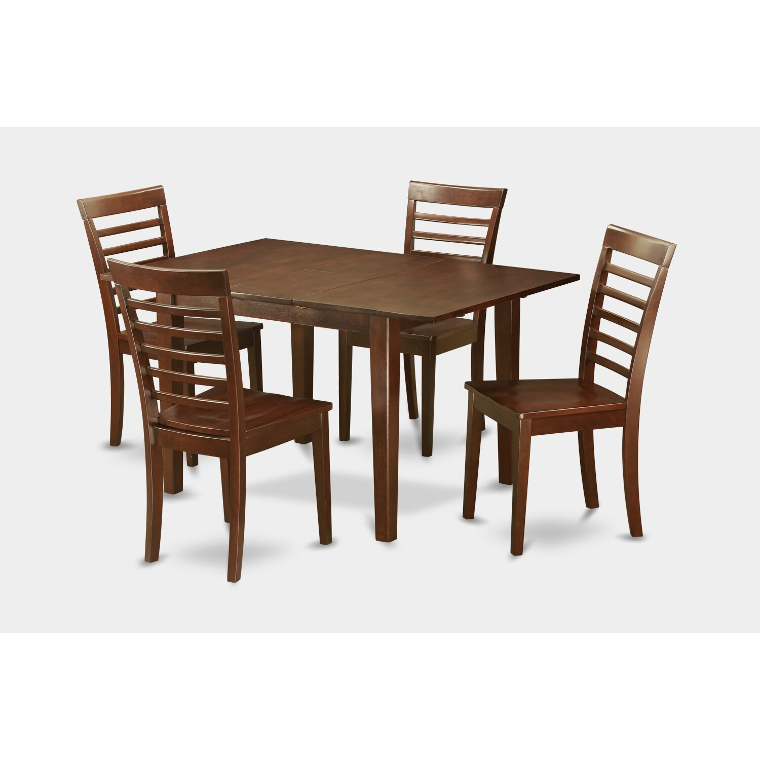 Wooden Importers Picasso 5 Piece Dining Set & Reviews