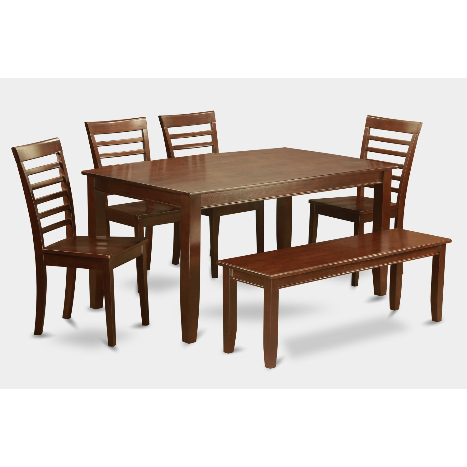 Wooden Importers 3 Piece Dining Set Reviews: Wooden Importers Dudley 6 Piece Dining Set & Reviews