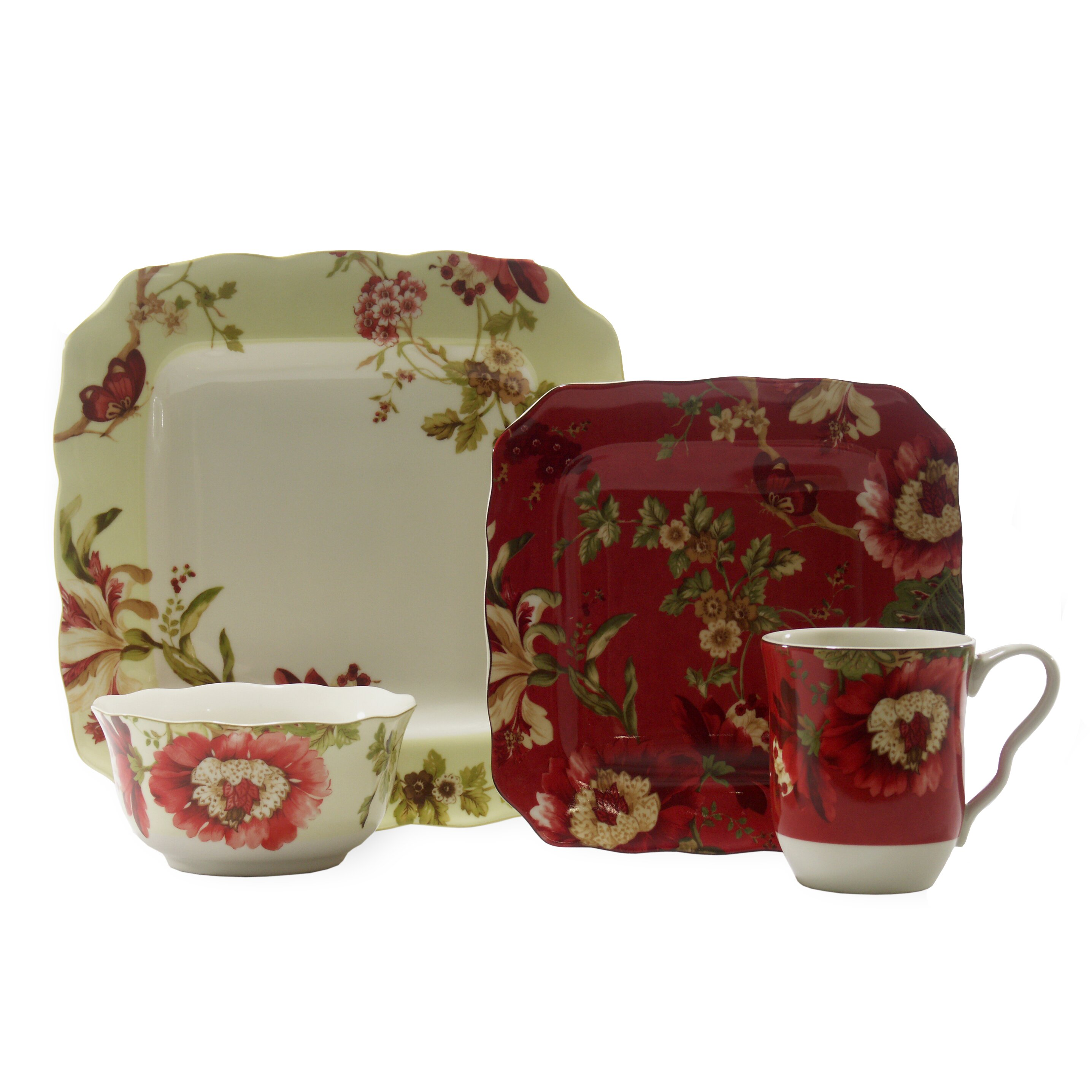 222 fifth lutece sq 16 piece dinnerware set reviews for 222 fifth dinnerware