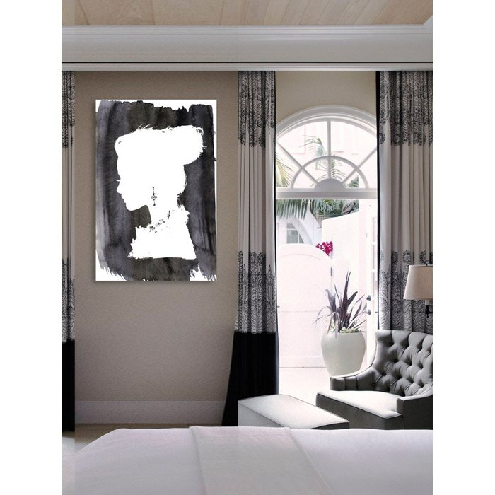 Oliver Gal Beaute Graphic Art On Canvas Amp Reviews Wayfair