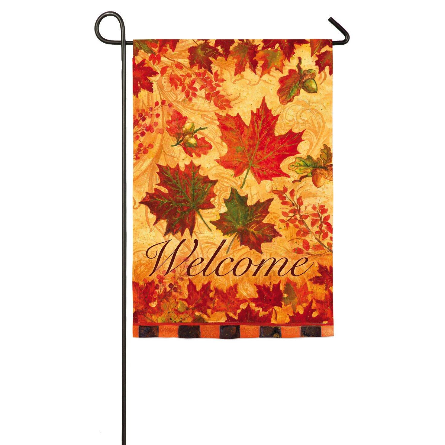 Evergreen Home Decor Evergreen Flag Garden Fall Leaves