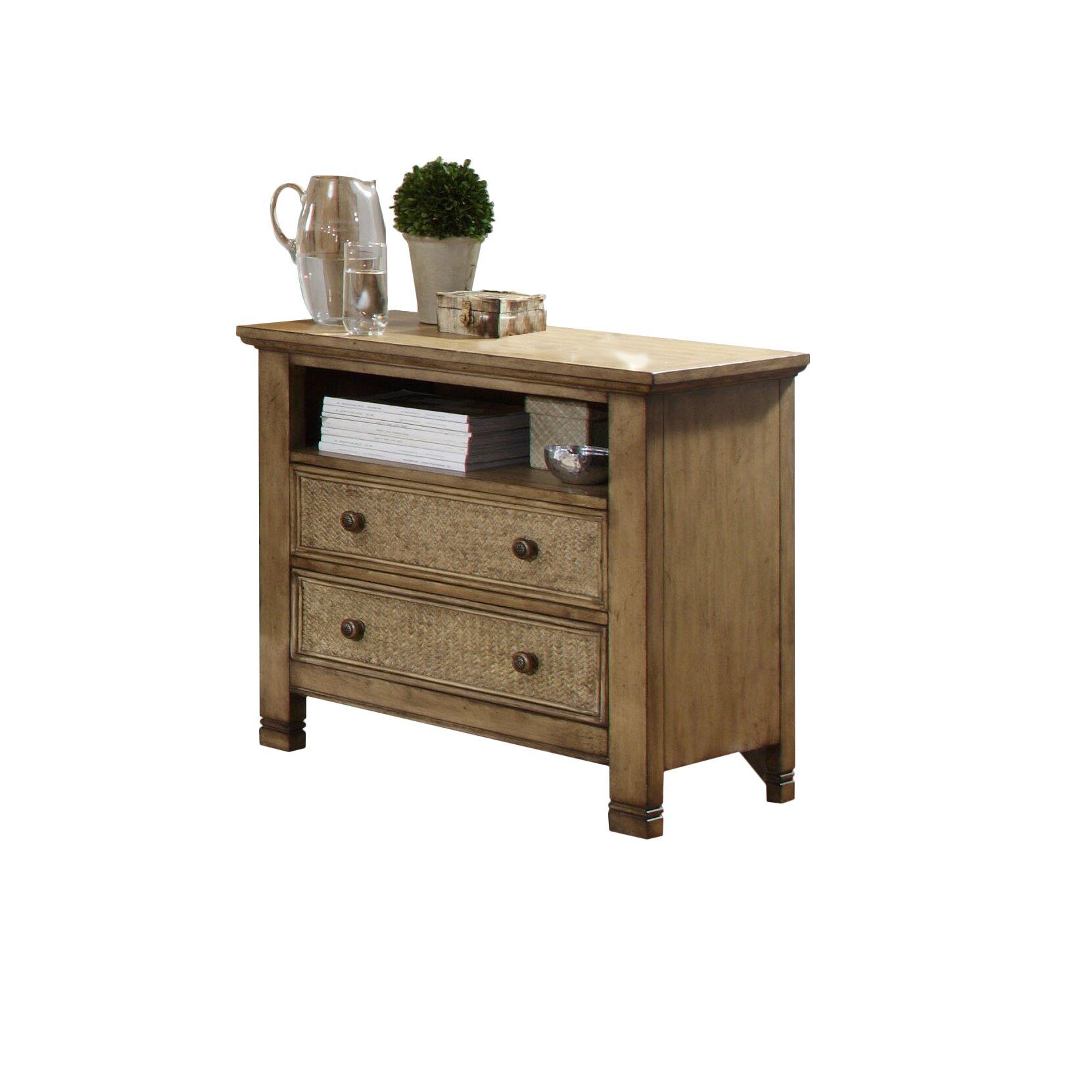 Progressive furniture kingston isle 2 drawer bachelor 39 s for Furniture kingston