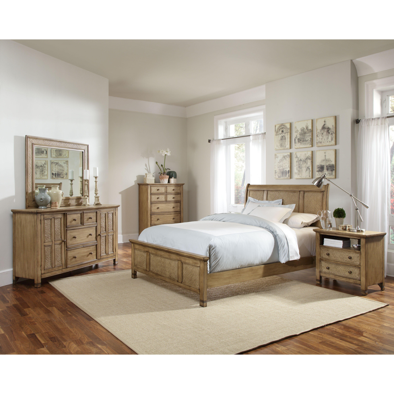 Progressive Furniture Kingston Isle Panel Customizable Bedroom Set Reviews Wayfair