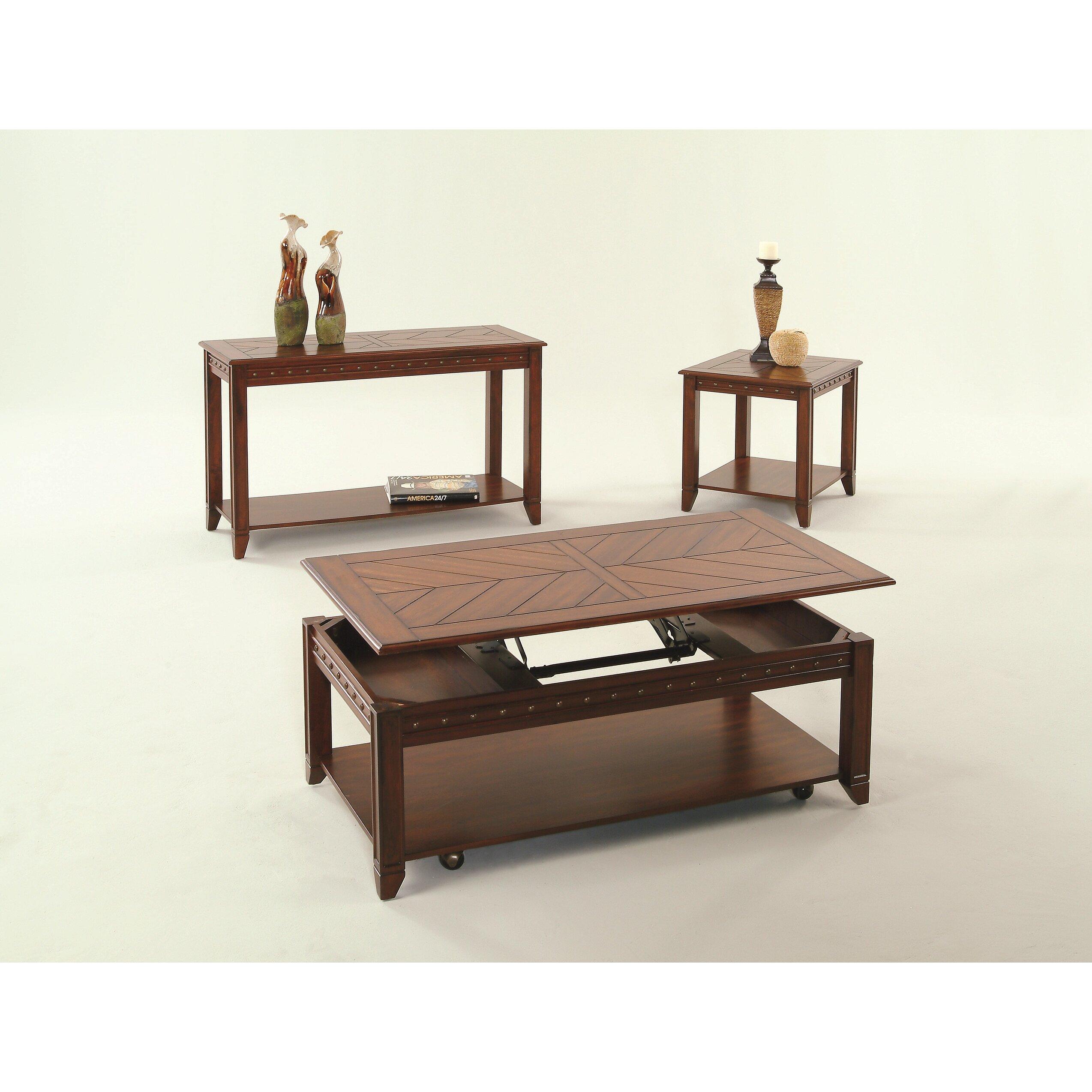 Progressive Furniture Redding Ridge Console Table Reviews Wayfair