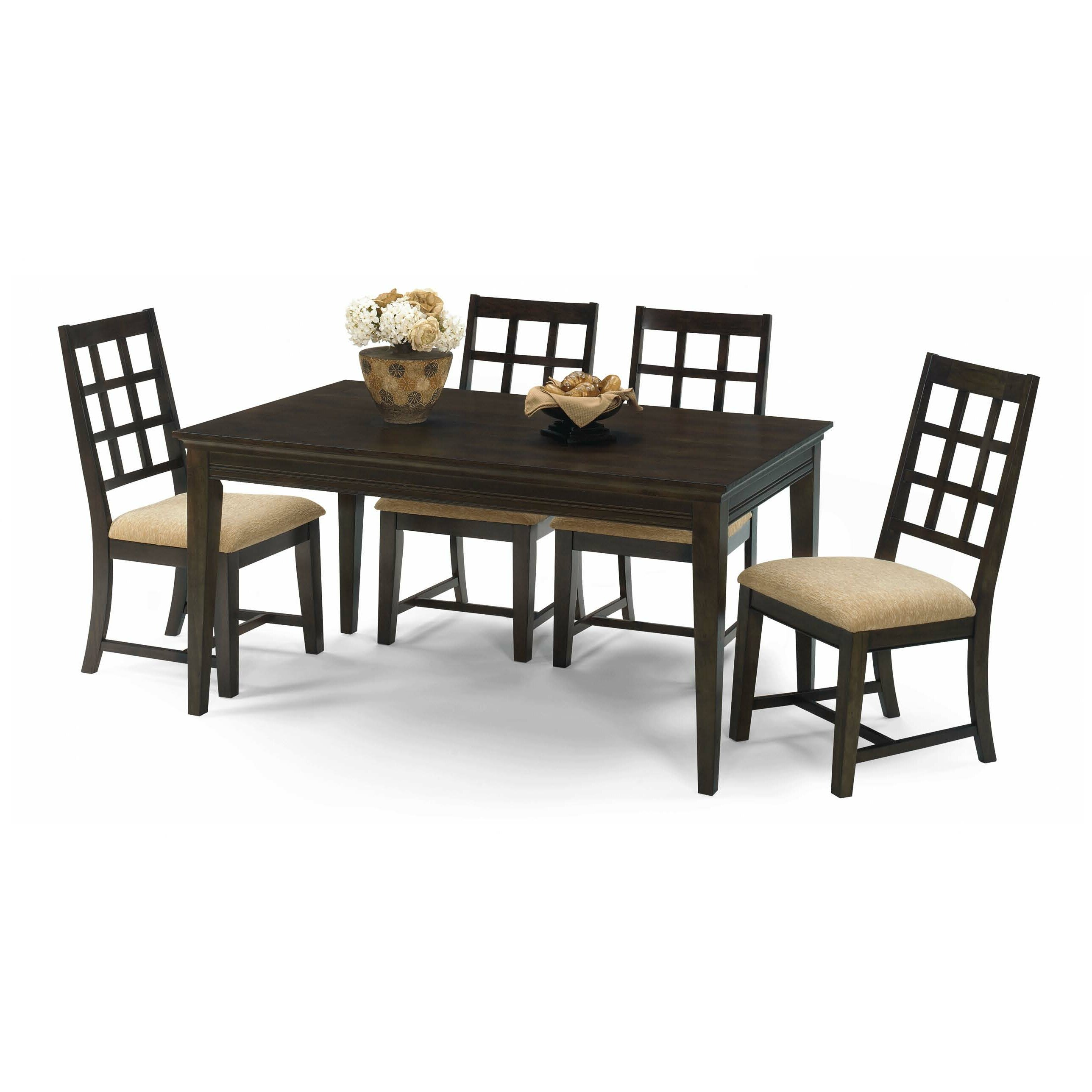 Progressive furniture casual traditions 5 piece dining set reviews - Casual kitchen sets ...