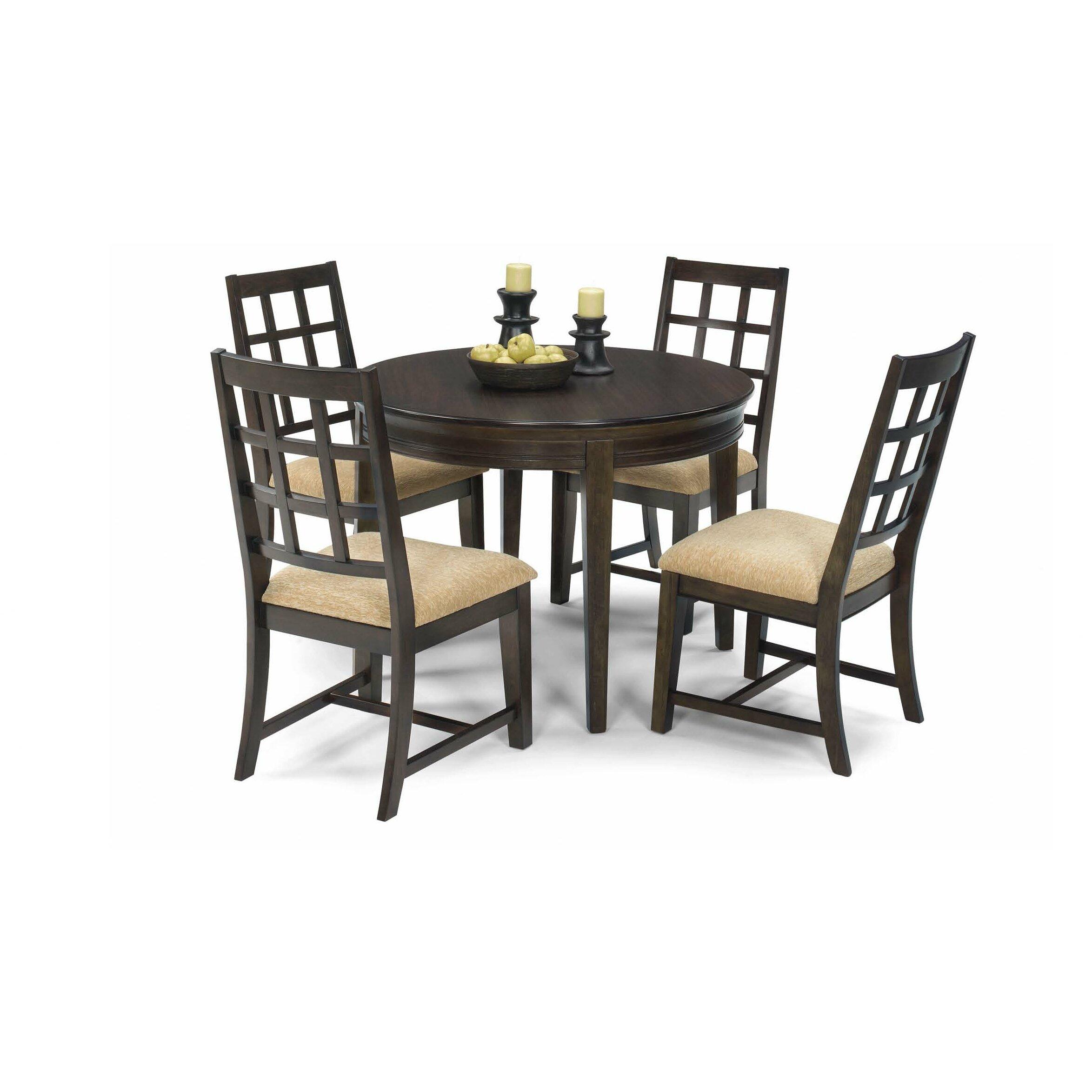 Progressive Furniture Casual Traditions 5 Piece Dining Set Wayfair
