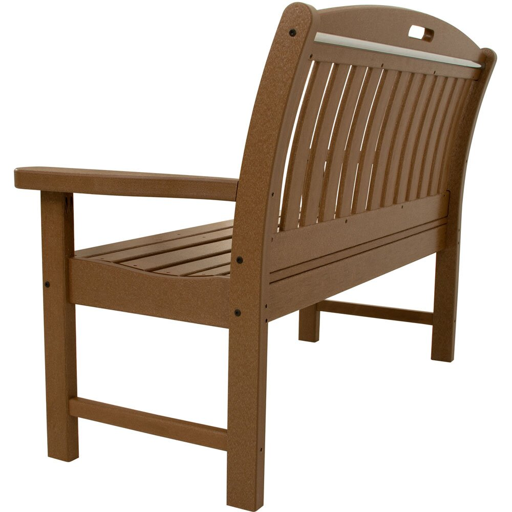 Hanover Avalon Plastic Garden Bench Wayfair